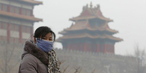 Peking: Notfall-Alarm wegen Mega-Smog