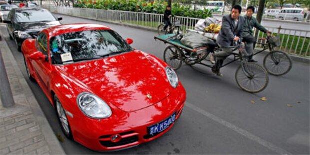 Peking verlost Autozulassungen