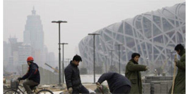Smog in Peking schreckt Olympia-Sportler ab