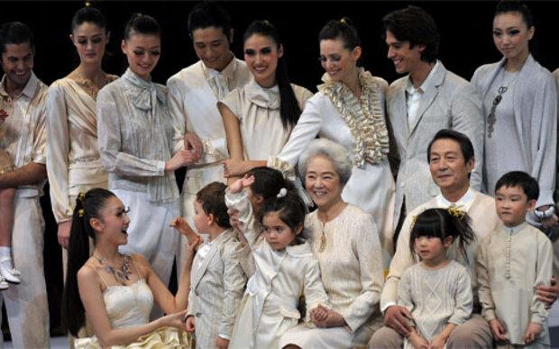 Opulenz und Farbenpracht bei der Fashion Week in China