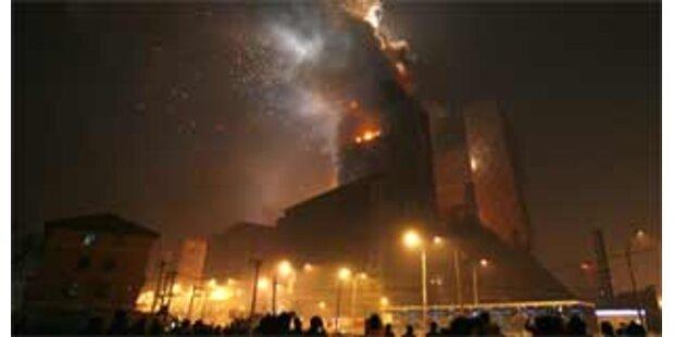 Staatlicher TV-Sender löste Brand in Peking aus