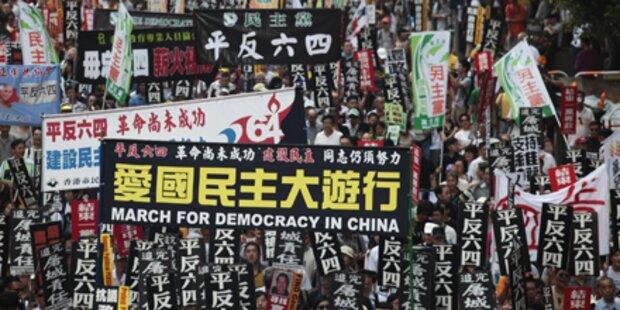 53 Festnahmen bei Peking-Gedenken