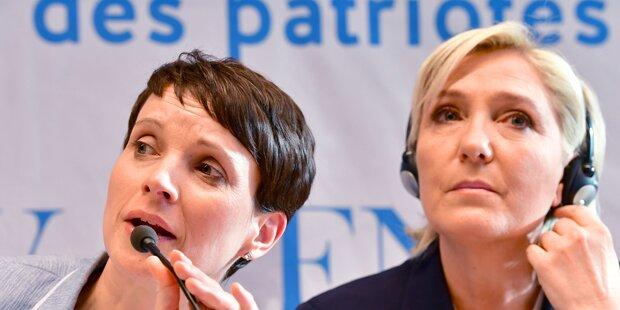 Le Pen kündigt