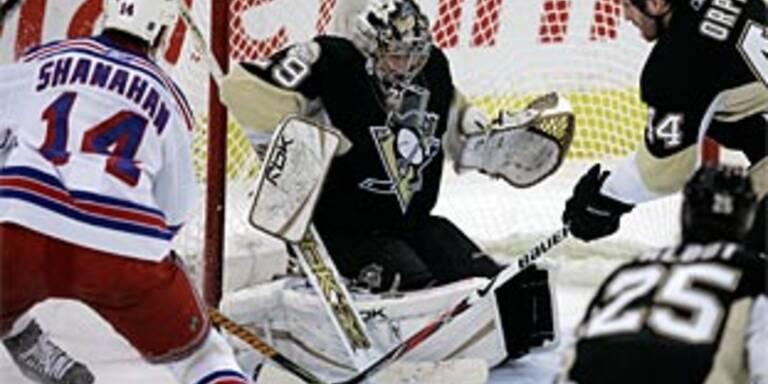 Penguins, Stars auf Halbfinal-Kurs