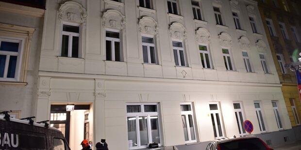 Haus evakuiert: Keine Einsturzgefahr