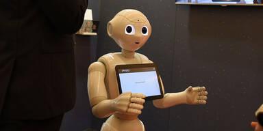 Jetzt werden Roboter sogar neugierig