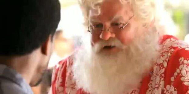 Pepsi klaut Cola den Weihnachtsmann