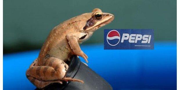 Froschteile in Pepsi-Dose gefunden