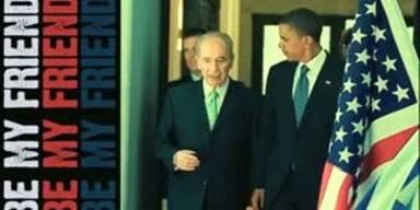 Shimon Peres rappt mit 88 Jahren auf Facebook