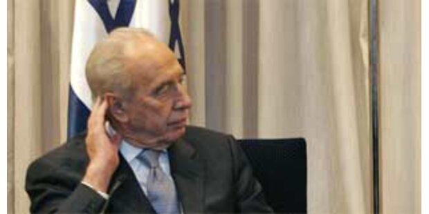 Peres dämpft Hoffnungen auf Nahost-Frieden