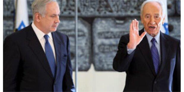 Peres für Verhandlungen mit Palästinensern