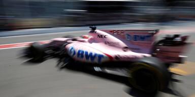 Perez schockt mit hefitgen Crash in Baku