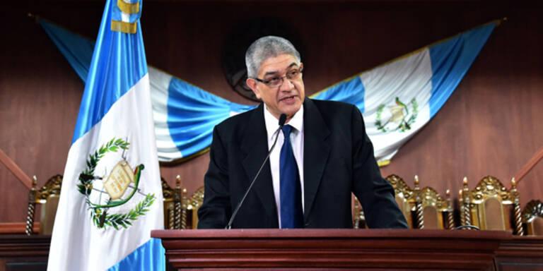 Guatemala: Präsident Perez tritt zurück