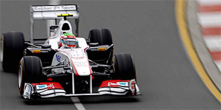 Debütant Perez als 7. disqualifiziert