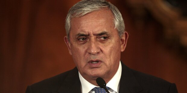 Guatemala: Perez-Immunität aufgehoben