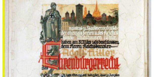 Mögliche Hitler-Dokumente in den USA aufgetaucht