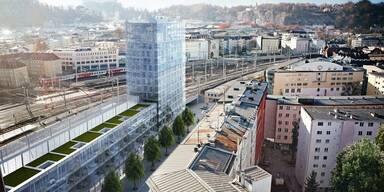 Riesen Baustelle in Salzburg startet