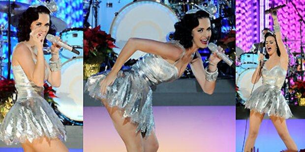 Katy Perry als scharfe Christbaumkugel