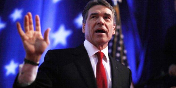 Perry gibt Kandidatur auf