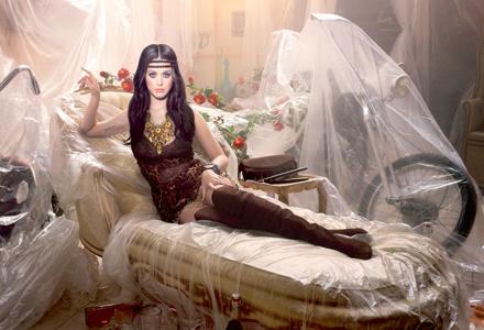 Katy Perry im Retro-Style