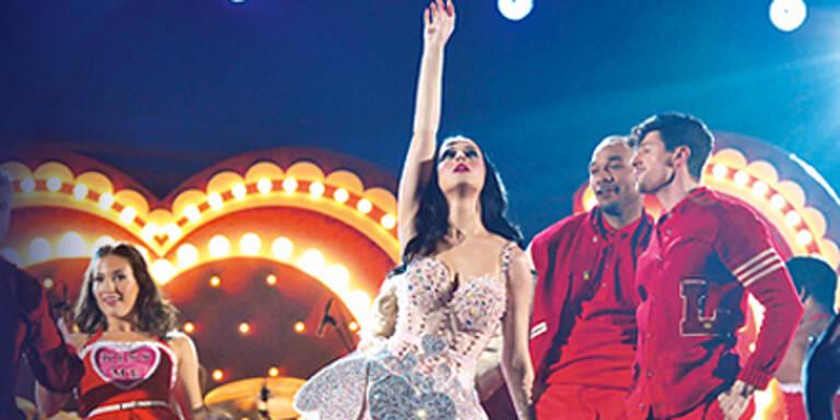 """Katy Perry: """"Ich sah ihre irre Wien-Show"""""""
