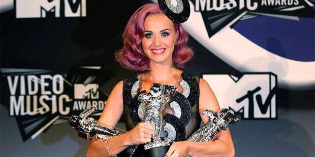 Katy Perry drehte