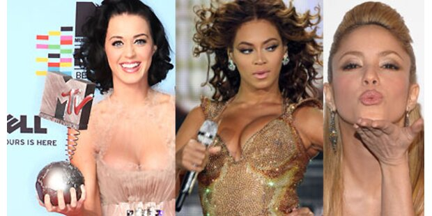 Shakira, Perry und Beyoncé - Zickenkrieg