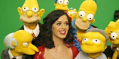 Simpsons krallen sich Katy Perry