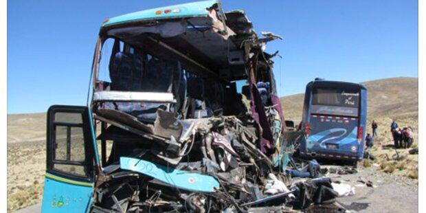 23 Tote bei Bus-Crash in Peru