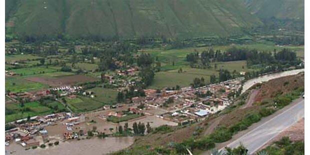 Hochwasserkatastrophe in Peru