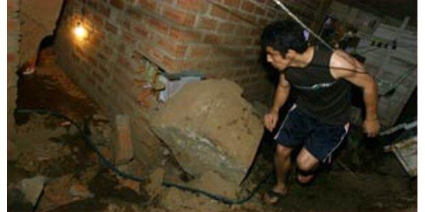 Viele Tote bei Erdbeben in Peru