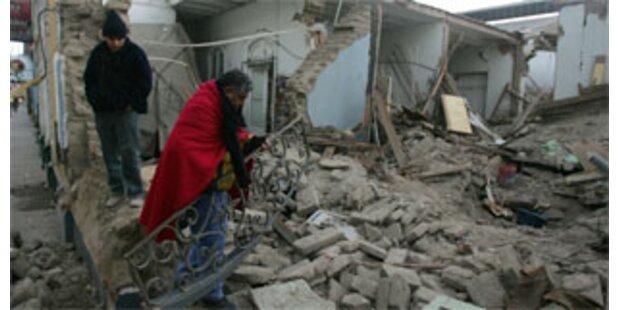 Wiederaufbau in Peru kostet 220 Millionen Dollar