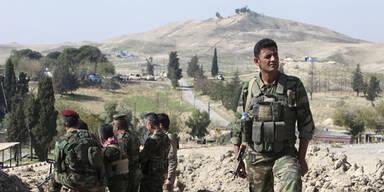 Kobane: Kurden erhalten Hilfe aus Irak