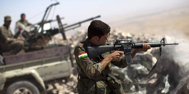 Kurden durchbrechen ISIS-Belagerung