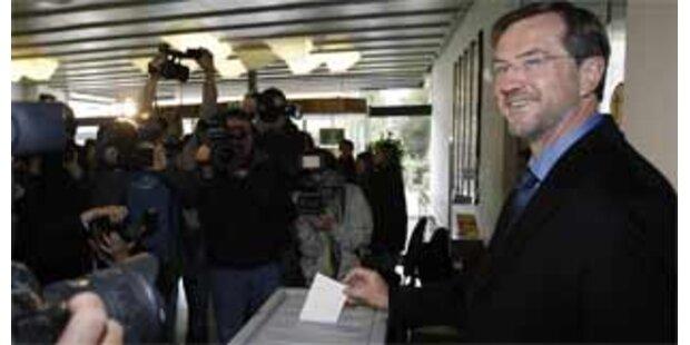 Peterle gewinnt erste Runde der Präsidentenwahl