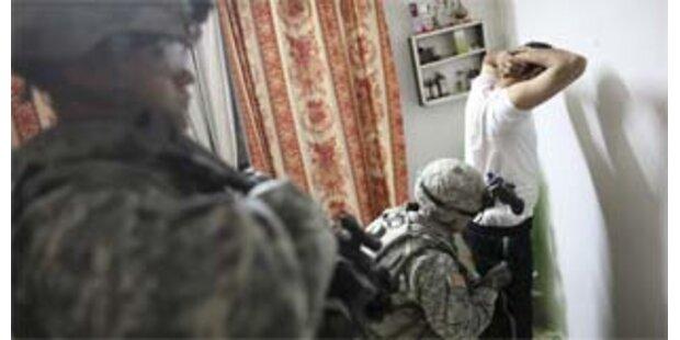 USA reduzieren vorerst nicht ihre Irak-Truppen