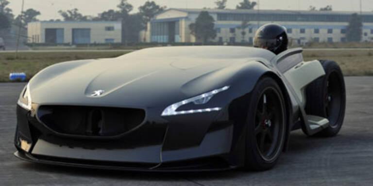 Peugeots E-Rakete EX1 stellte neue Rekorde auf