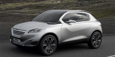 Peugeot HR1 - Crossover-Studie für die Stadt