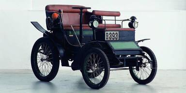 Ältestes Auto Österreichs erfolgreich versteigert