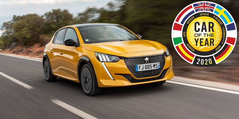 """Peugeot 208 ist """"Car of the Year 2020"""""""