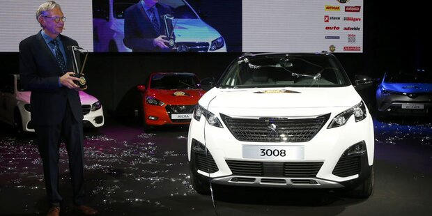 Peugeot 3008 ist Car of the Year 2017
