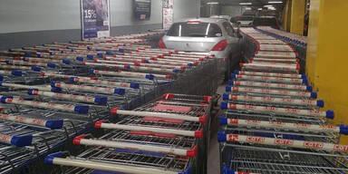 Geniale Aktion gegen Falschparker