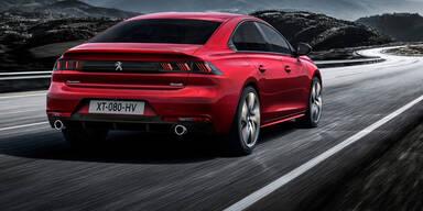Peugeot macht 508 zur Coupé-Limousine