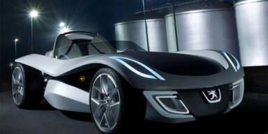 Peugeot enthüllt Öko-Flitzer Flux