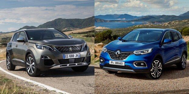 Renault und PSA 2018 Kopf-an-Kopf