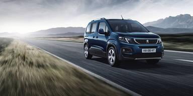 Peugeot greift mit dem neuen Rifter an