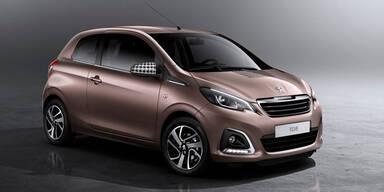 Weltpremiere des neuen Peugeot 108