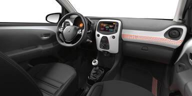 Der Peugeot 108 bestens vernetzt