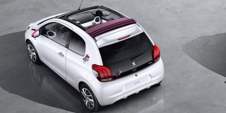 Peugeot baut ein Elektro-Cabrio