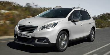 Peugeot 2008 setzt Erfolgslauf fort